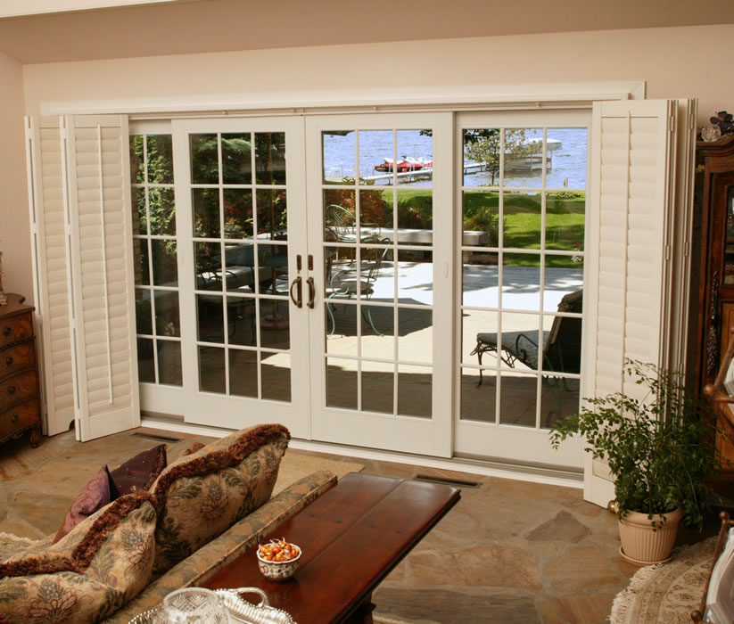 Patio doors gallery rba houston for Double sliding patio doors